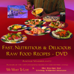 How Aajonus Prepares Food - The Raw Food Recipes DVD