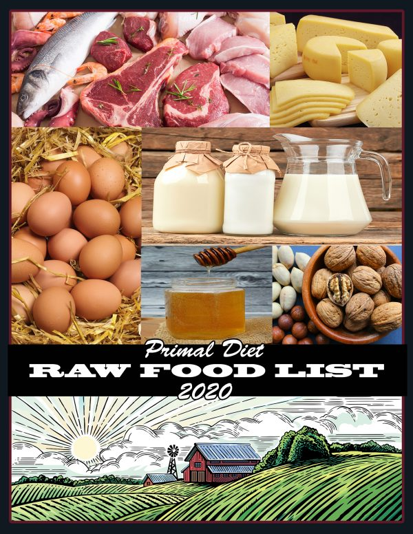 Primal Diet Raw Food List 2020